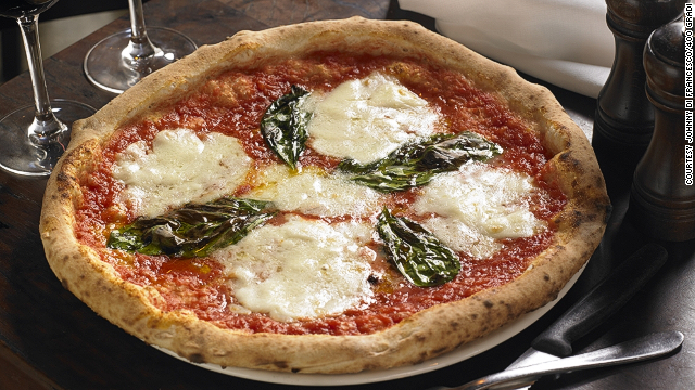 The price on Di Francesco's margherita pizza (pictured) won't be going up anytime soon.