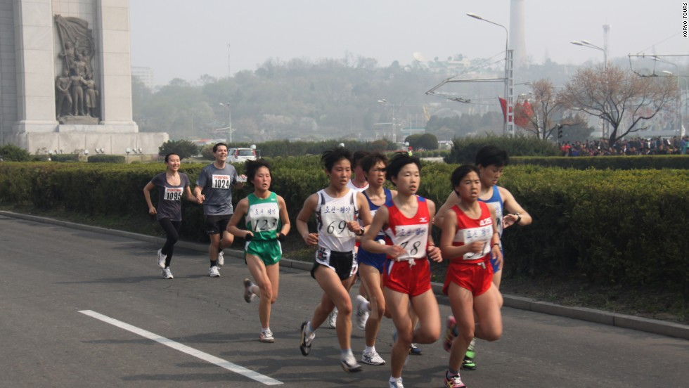 The race included a full marathon, half-marathon, and 10-kilometer run.