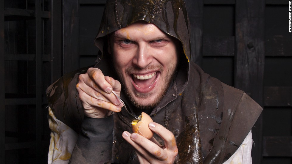 Fed up with cute Easter bunnies and sickly sweet chocolate? The  London Dungeon's dark hunt offers some extra bad eggs.