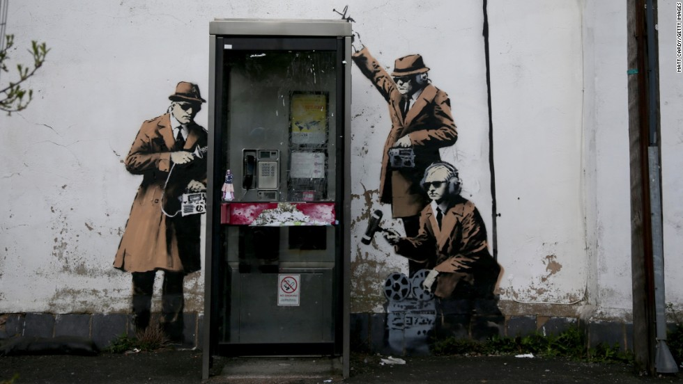 140415113513-banksy-spies-horizontal-large-gallery - Welcome to Dismaland - Weird and Extreme