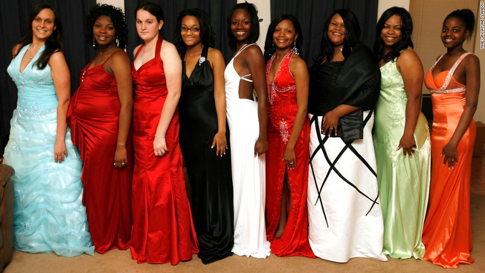 """A year after they were <a href=""""http://blog.nola.com/times-picayune/2007/04/dress_flap_rocks_higgens_high.html"""" target=""""_blank"""">sent home from the L.W. Higgins High School prom</a> in Marrero, Louisiana, about two dozen students and their parents sued the school over its dress code, claiming it was discriminatory and violated state and federal laws. The girls were turned away from the prom for wearing dresses that did not cover their cleavage."""