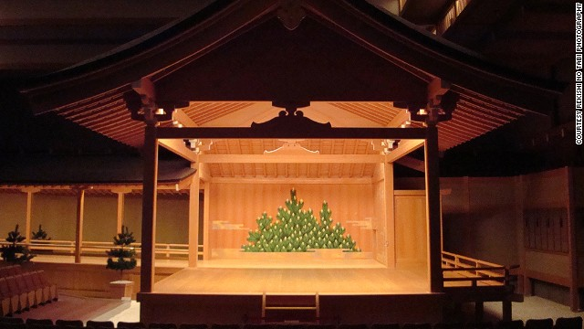 At Tokyo's Noh theater, performances can go on all day.