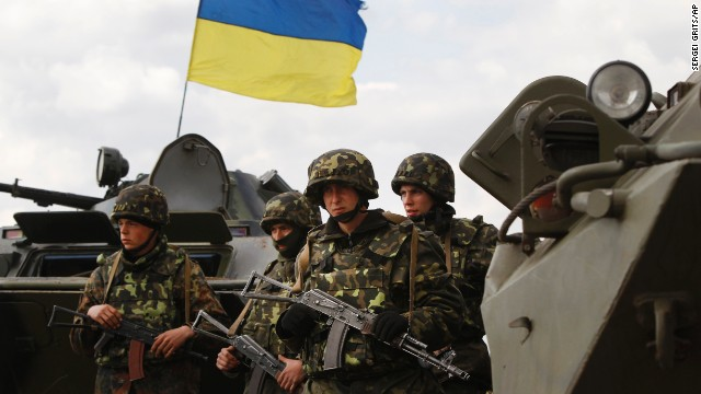 'Anti-terror' ops under way in Ukraine