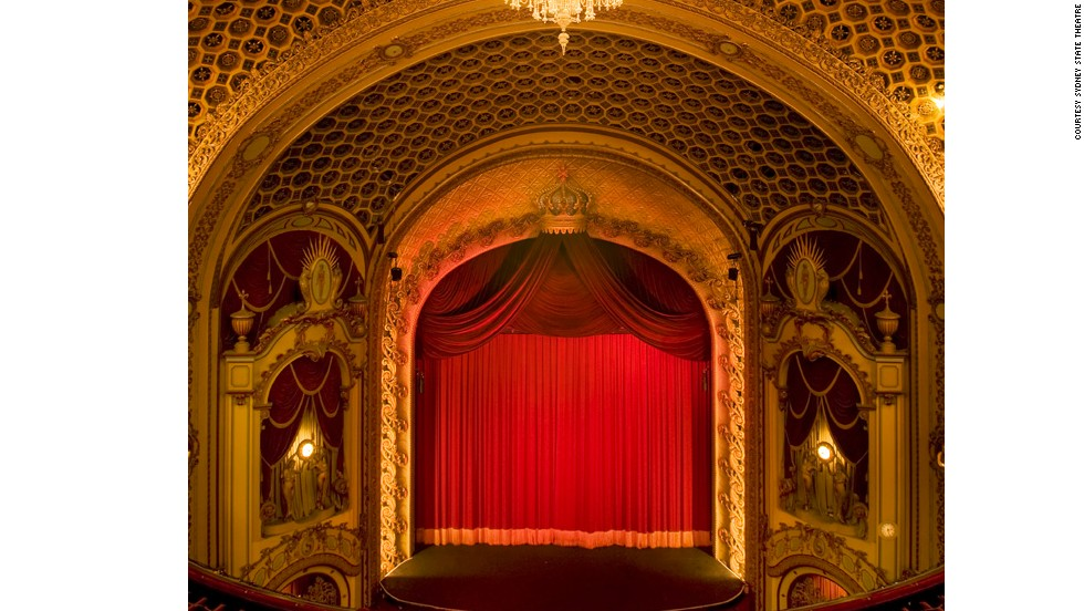 Aussie architect Eli White based his masterpiece on the work of American John Eberson, resulting in a mishmash of Gothic, Italian and art deco styles. The theater has the second largest chandelier in the world and a priceless Wurlitzer organ.