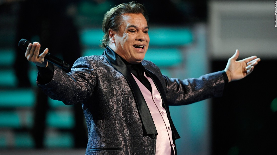 "Mexican music icon<a href=""http://www.cnn.com/2016/08/28/entertainment/latin-american-music-icon-juan-gabriel-dead/index.html""> Juan Gabriel, </a>who wooed audiences with soulful pop ballads that made him a Latin American music legend, died Sunday, August 28, at the age of 66."