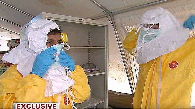 Ebola scientist: 'It's spectacular'