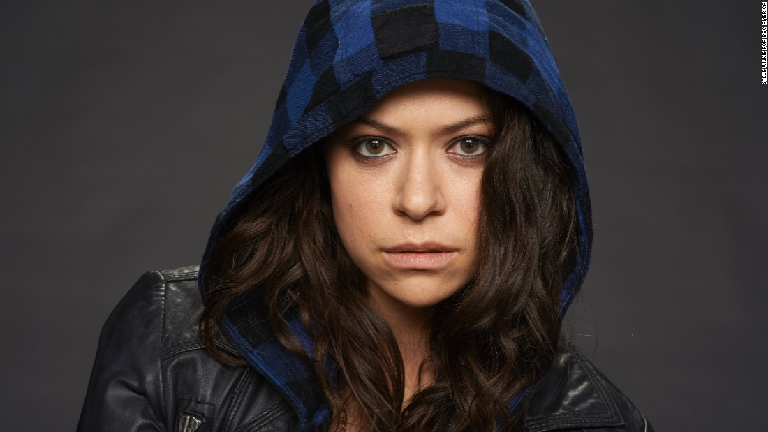 "Tatiana Maslany's ""clone club"" brings new meaning to the term ""girl power"" on the critically-acclaimed BBC America series ""Orphan Black."" Maslany plays Sarah Manning on the show."