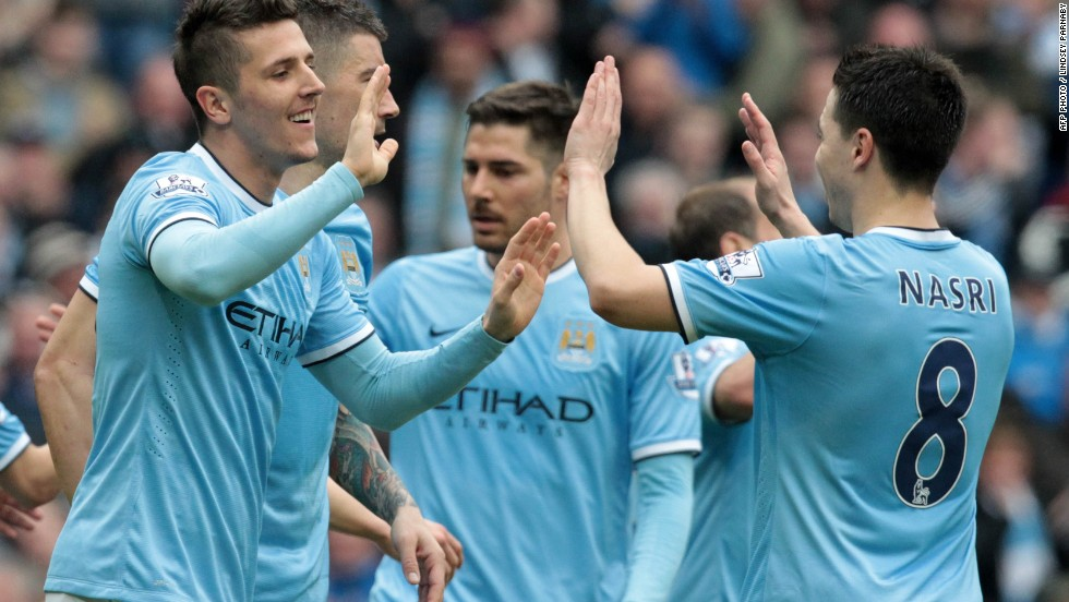 "Manchester City is the best paid team in global sport, according to<a href=""http://www.sportingintelligence.com/2014/04/15/revealed-man-city-yankees-dodgers-rm-barca-best-paid-in-global-sport-150401/"" target=""_blank""> Sporting Intelligence's Global Sports Salaries Survey for 2014.</a>"