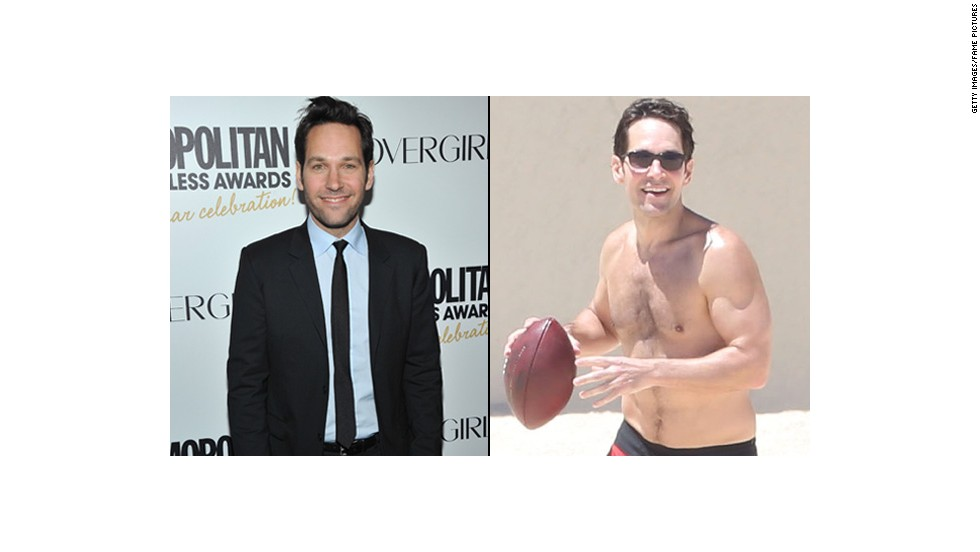 "With <a href=""http://marquee.blogs.cnn.com/2013/12/19/paul-rudd-as-ant-man/?iref=allsearch"" target=""_blank"">his new role as a superhero in Marvel's ""Ant-Man,""</a> it looks like Paul Rudd is bulking up. The actor was spotted on the beach in Mexico with some very noticeable muscles, leaving onlookers curious if he's been hitting the gym for the gig. (Or perhaps those pecs were there all along.)"