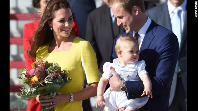Royals greeted like rock stars in Sydney