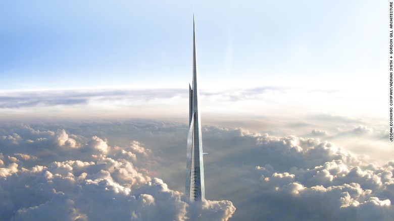 Saudi Arabia to build world's tallest building 1km tall