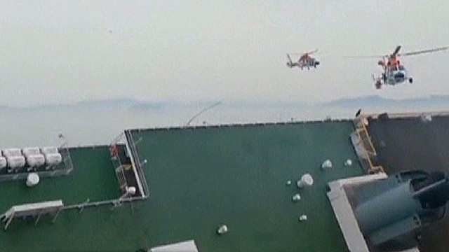Did human error sink the S. Korean ferry?