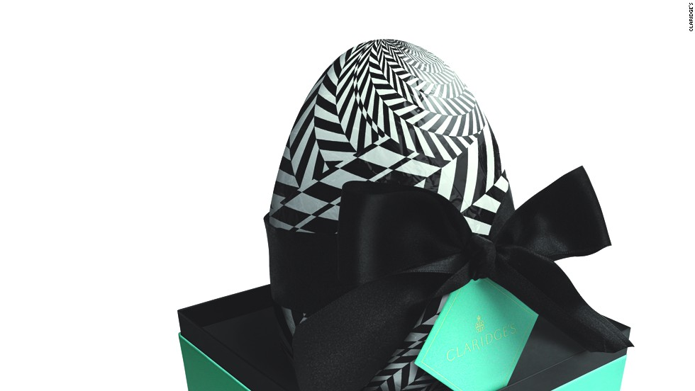 "Ever year the chefs at <a href=""http://www.claridges.co.uk/"" target=""_blank"">Claridge's</a>, London's celebrated Art Deco hotel, handcraft a series of limited edition Deco eggs, available in dark, milk and white chocolate. Chefs fill each egg, which costs around $90, with miniature chocolate eggs, making a sweet treat even sweeter. The black-and-white wrapping references the hotel's famous foyer, and the box adds another layer of luxury. According to pastry chef Ross Sneddo: ""It's a way of extending the Claridge's experience into someone's home."""