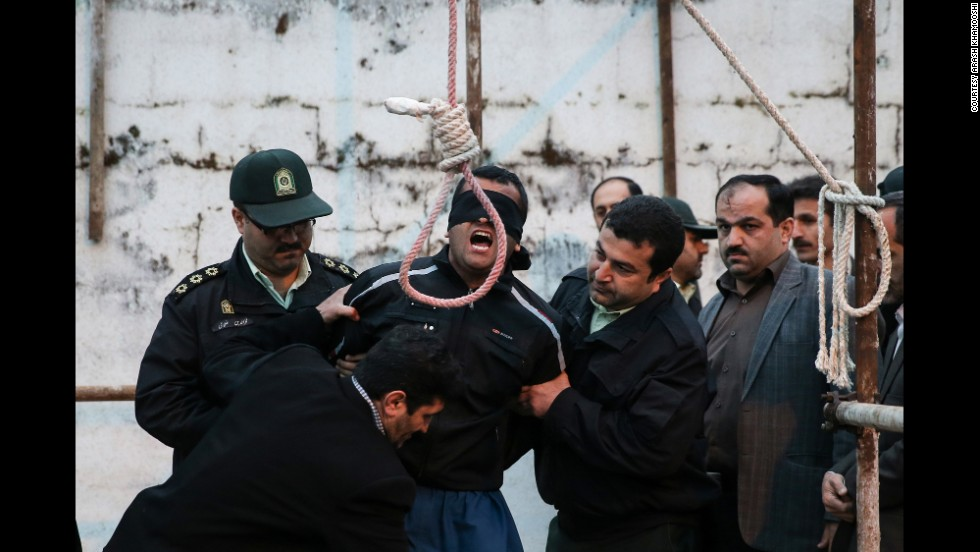 Iranian authorities prepare a man identified only as Balal to be hanged in the northern city of Noor this week. Balal was convicted in the stabbing death of 17-year-old Abdollah Hosseinzadeh seven years ago during a street fight.
