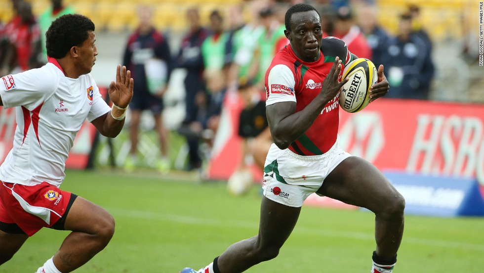 Kayange comes from a rugby-playing family -- his brother Collins Injera is Kenya's leading try scorer and is third on the IRB Sevens' all-time list.