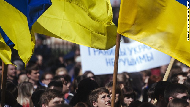 Ukraine crisis takes a 'grotesque' turn