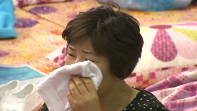 Agony for waiting South Korean families