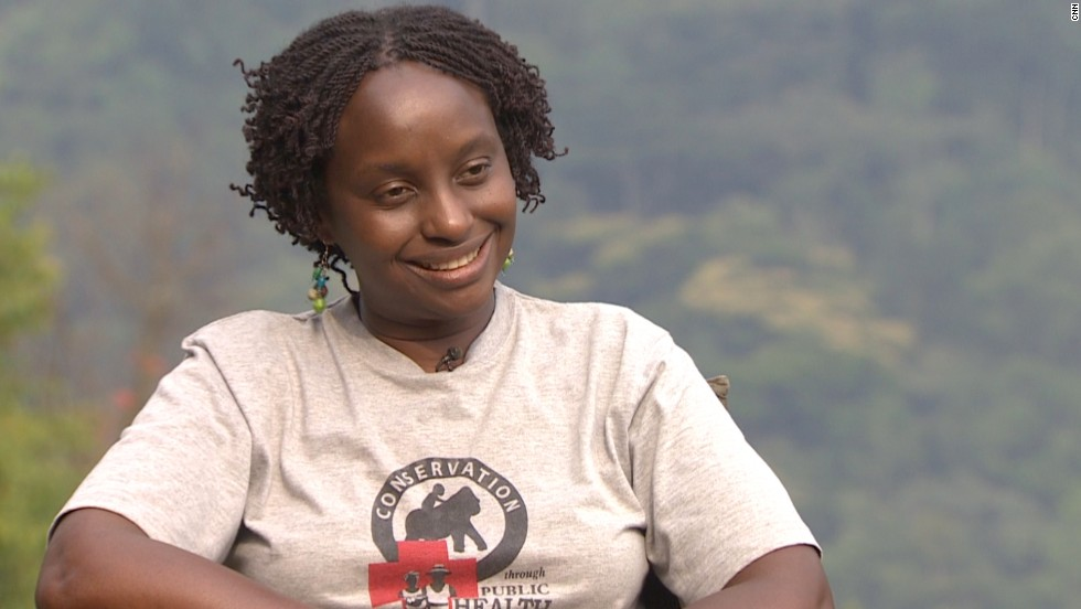 Veterinarian Gladys Kalema-Zikusoka is a trailblazing advocate for species conservation in Bwindi.