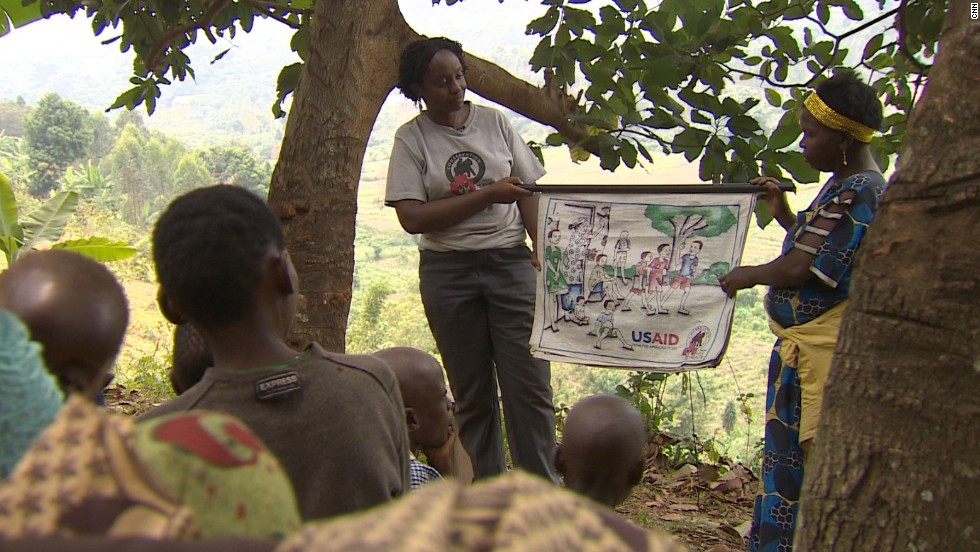 In addition to her work as a leading scientist and researcher, Kalema-Zikusoka also spends her time engaging with local communities on how best to preserve the gorillas' natural habitat.