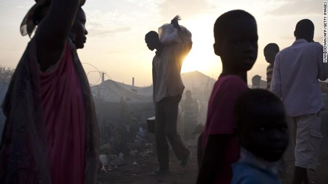 Oscar winner discusses South Sudan