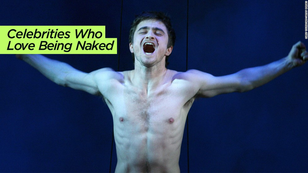 "CNN is not immune from the Web's list fever. Here we celebrate <a href=""http://www.cnn.com/2014/01/09/showbiz/gallery/celebrities-who-love-being-naked/"">famous people with a penchant for nudity</a>, from Daniel Radcliffe (seen here) to Lady Gaga."