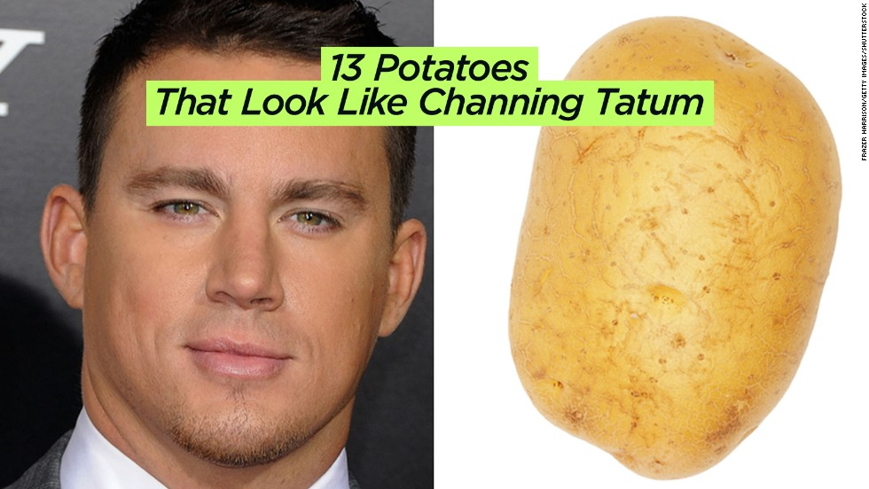 "We'd like to meet the person who combed through bags of potatoes for<a href=""http://www.buzzfeed.com/lyapalater/potatoes-that-look-like-channing-tatum"" target=""_blank""> this BuzzFeed assignment</a>."