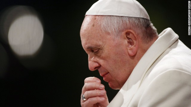 Pope stirs Communion debate