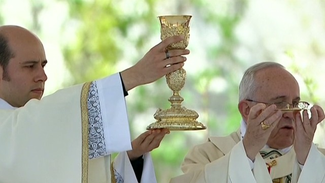 Pope Francis celebrates Easter