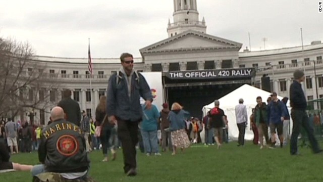 420 Rally celebrates pot legalization