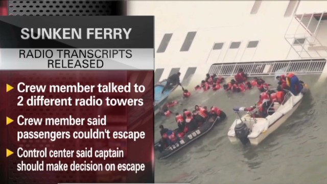 Transcript reveals ferry tragedy details