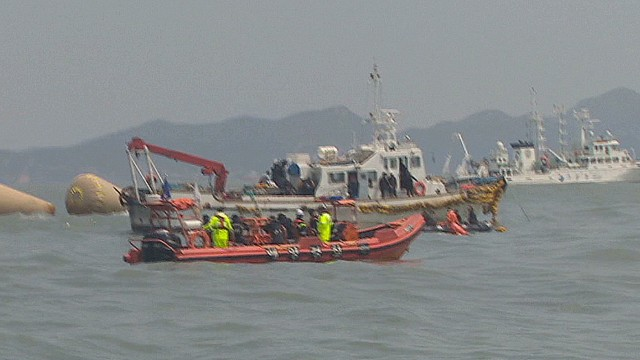 Divers continue to search sunken ferry