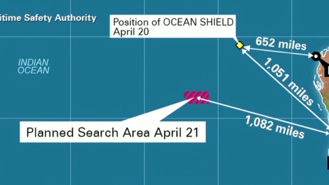 MH370 search area almost covered