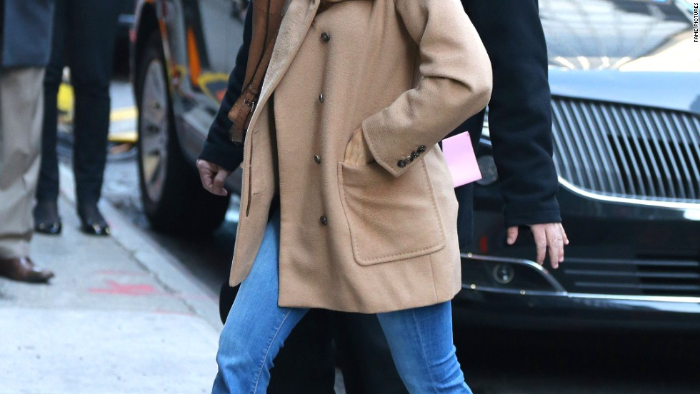 "Sofia Vergara is having a great morning on her way to ""Good Morning America"" on April 21."
