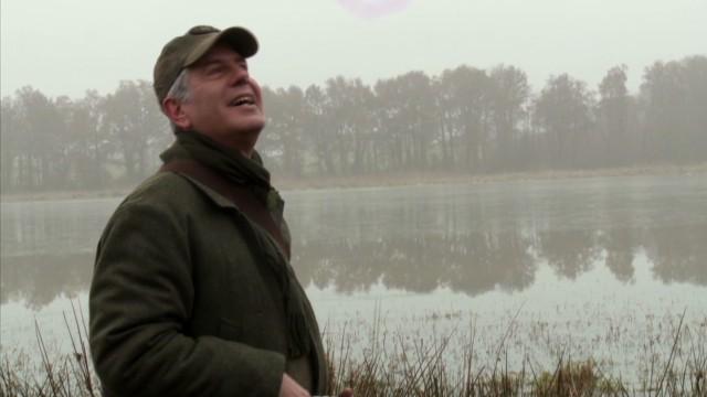 Bourdain: Marshland in the morning mist