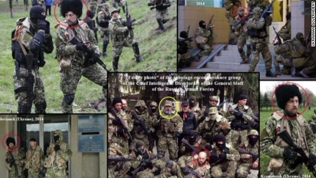 Is this man in Russia's special forces?