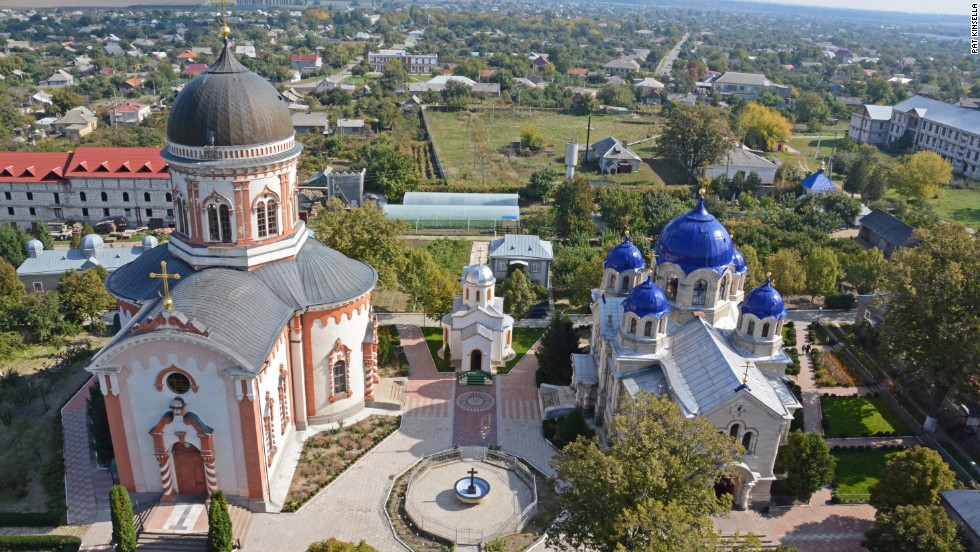 An enclave within Moldova, Transnistria is a nation in its own eyes only -- no other country officially recognizes it. Noul Neamt monastery (pictured) claims to have Transnistria's highest bell tower, offering views over the surrounding farmland.