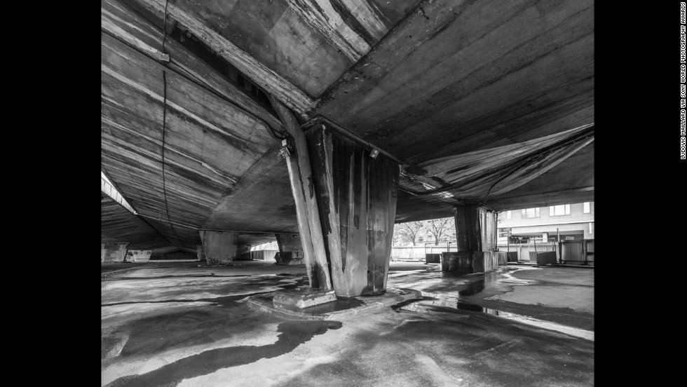 "<a href=""http://ludovicmaillard.com/"" target=""_blank"">Ludovic Maillard</a> of France took first place in the Architecture category. He explored the abandoned spaces beneath Paris' major ring road. ""It is both a frontier between Paris and its suburbs and a no man's land hidden under the busiest highway in France,"" he said."