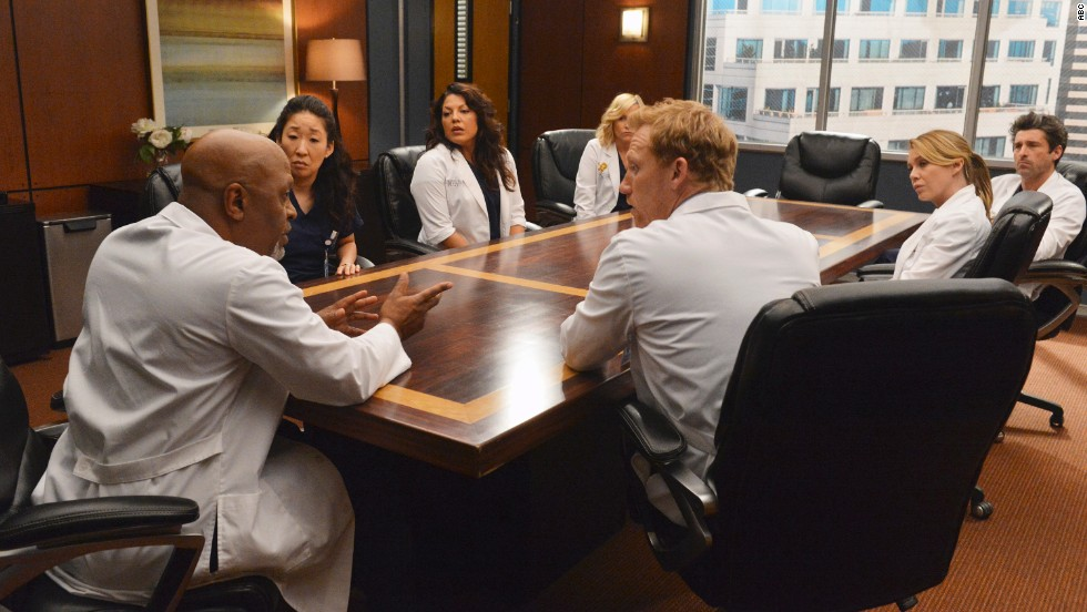 "<strong>""Grey's Anatomy"": </strong>You might think Shonda Rhimes' soapy medical drama would be running out of renewal gas  after a decade on ABC. You'd be wrong; stars <a href=""http://marquee.blogs.cnn.com/2014/01/24/ellen-pompeo-patrick-dempsey-sign-up-for-more-greys/?iref=allsearch"" target=""_blank"">Ellen Pompeo and Matthew Dempsey are riding this train for at least two more years.</a> <strong>Prediction: Lives.</strong>"