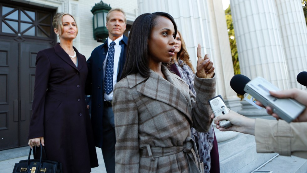 "<strong>""Scandal""</strong> Season 3 (2013) -- Fans of the ABC series will find this season memorable, if for no other reason than watching how hard they worked to hide star Kerry Washington's pregnancy. (Netflix)"