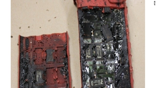 Removing data from heat-damaged boards is harder, but not impossible