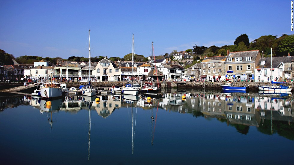 "Writer Catharine Amy Dawson Scott described this popular seaside town as a ""little place with narrow streets all running uphill."""