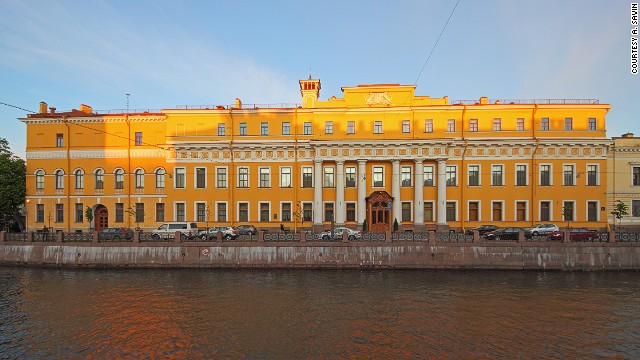 The Yusupov Palace still stands by the Moika today and includes a Rasputin exhibition.