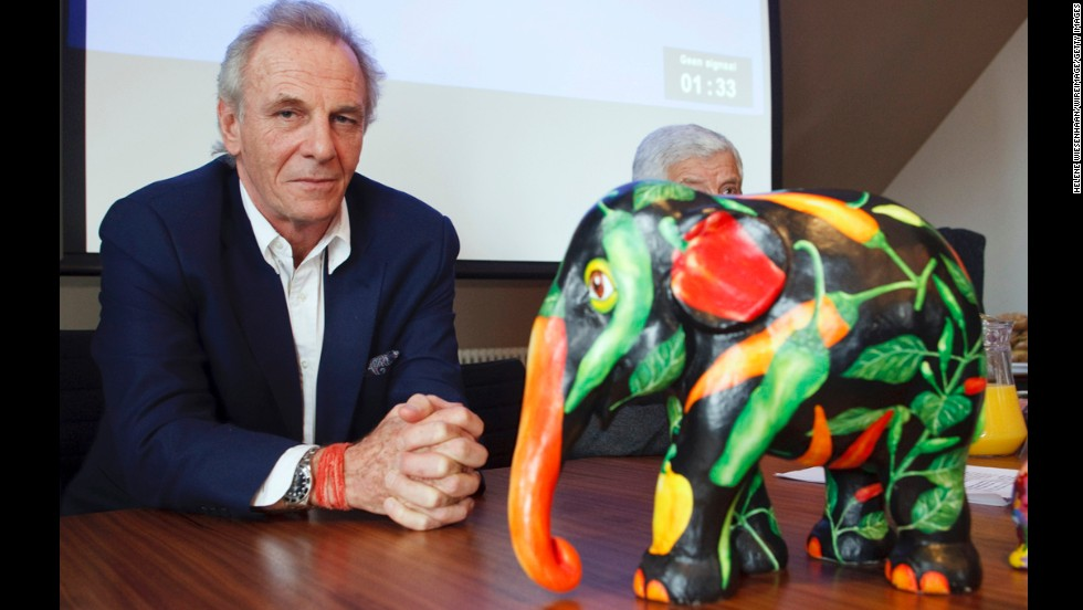 Shand helped organize 2009's Elephant Parade in Amsterdam, an open-air art exhibition consisting of 100 painted elephants that aimed to raise awareness of the plight of the Asian elephant.