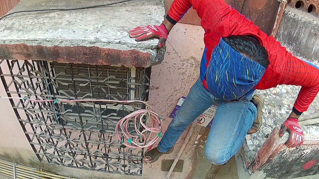 'Indian Spider-Man' campaigns for office