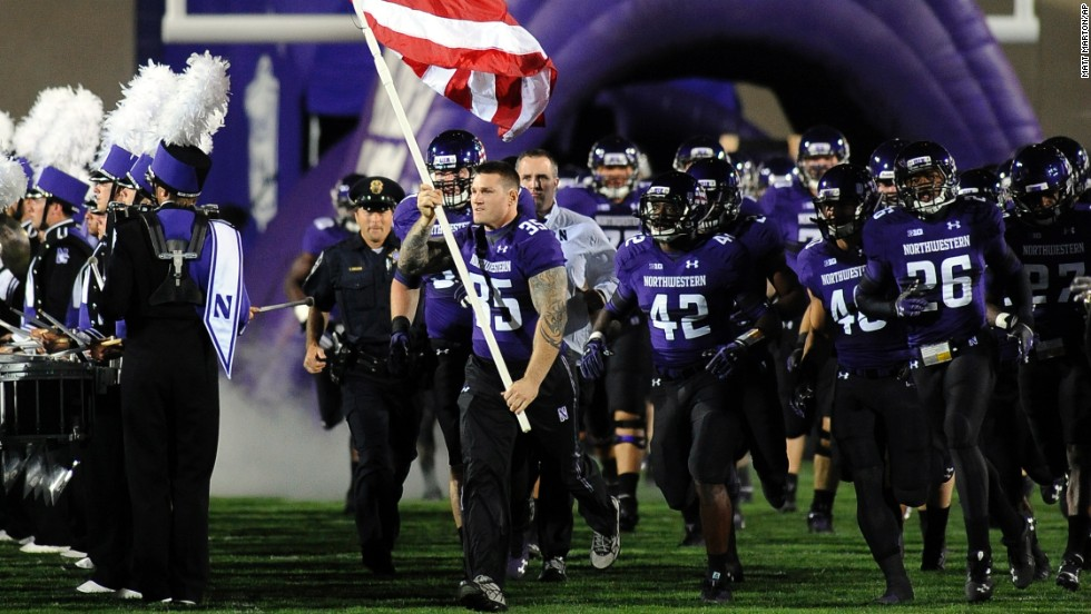 On Thursday, the National Labor Relations Board granted Northwestern University's request to review a decision that its football players are employees of the school and have the right to unionize. The athletes have said they're seeking better medical coverage, concussion testing, four-year scholarships and the possibility of being paid. Click through to see what others are saying.