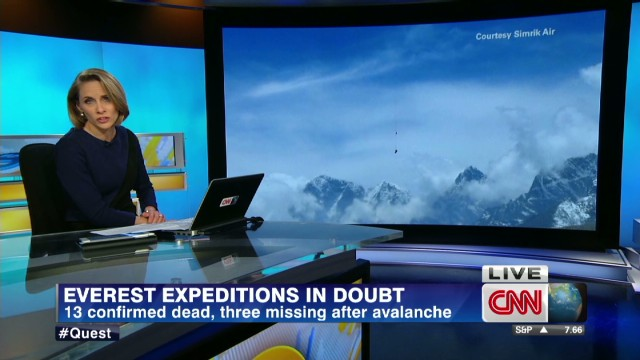 Everest expeditions in doubt
