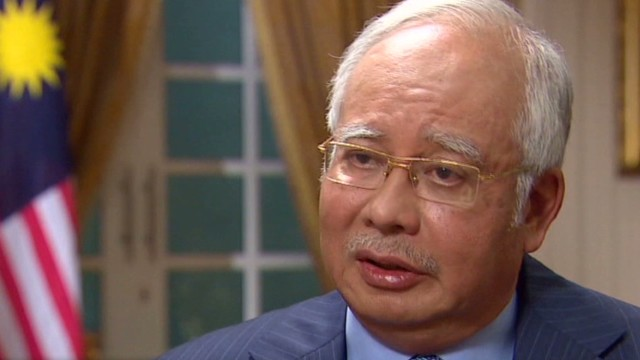 Malaysian P.M. won't say plane is lost