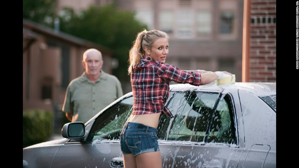 """Diaz's character in """"Bad Teacher"""" was nothing but salty language and a horrible attitude, but the actress enthusiastically embraced the project without a hint of shame. She reunited with her ex-boyfriend Justin Timberlake for the 2011 comedy, <a href=""""http://marquee.blogs.cnn.com/2011/06/07/jt-and-cameron-diaz-still-love-each-other/?iref=allsearch"""" target=""""_blank"""">which she didn't mind a bit</a>."""