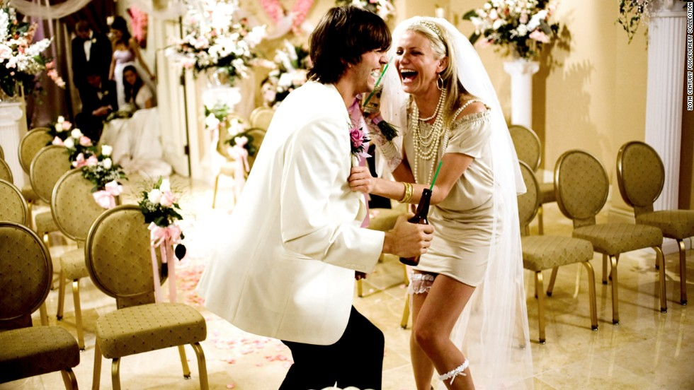 "If we had to think up a male counterpart to Cameron Diaz, we might settle on Ashton Kutcher. Like Diaz, former model Kutcher has made a name as a comedic actor who doesn't shy away from more adult humor, and the two were a match in the 2008 rom-com ""What Happens In Vegas."" The movie may have been critically reviled, but it did alright for itself at the box office, earning $80 million domestically."