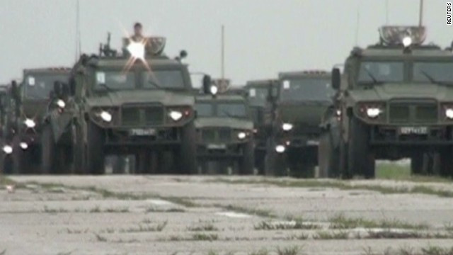 Russia orders new military drills